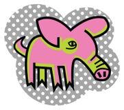 Розовое piggy Стоковые Фото