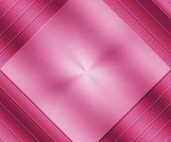 Розовой металлической металл почищенный щеткой текстурой Стоковые Изображения