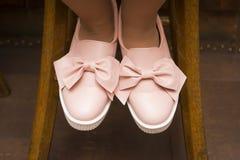 розовые ботинки Стоковое Изображение RF