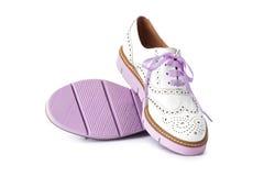 розовые ботинки Стоковые Фото