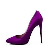 розовые ботинки Стоковая Фотография
