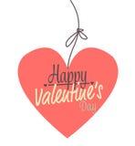 Розовые валентинки сердца Стоковые Фото