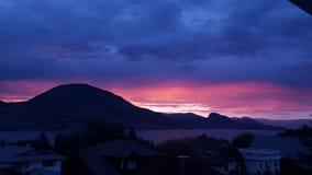 Розовые горы Стоковые Изображения RF