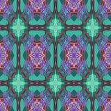 Розовые голубые мандалы Стоковое Фото