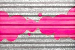 Розовые граффити стоковая фотография