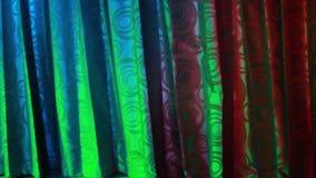 Розовые занавесы в кабаре диско видеоматериал