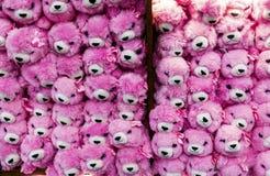 Розовые игрушки плюша Стоковые Фотографии RF