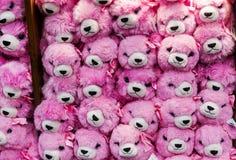 Розовые игрушки плюша Стоковое Фото