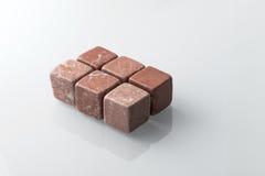 Розовые камни вискиа установленные 6 Стоковые Изображения RF