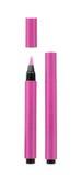 Розовые косметические карандаши стоковые фотографии rf