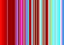 Розовые красные фосфоресцентные абстрактные линии, картина Стоковое фото RF