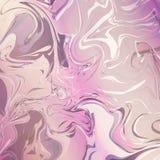 Розовые мраморные обои Стоковая Фотография