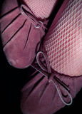 розовые насосы Стоковое Фото