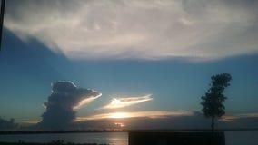 Розовые небеса Стоковые Фотографии RF