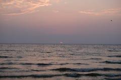 Розовые облака Стоковое Изображение