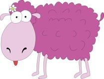 розовые овцы Стоковая Фотография RF