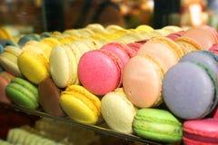 Розовые печенья Maccarone Стоковые Изображения