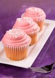 Розовые пирожня Стоковая Фотография RF