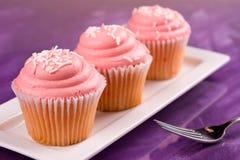 Розовые пирожня Стоковые Изображения