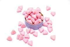 Розовые пилюльки медицины Стоковое фото RF