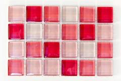 розовые плитки стоковое фото