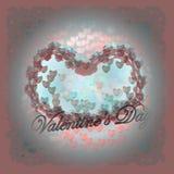 Розовые сердца Стоковые Фотографии RF