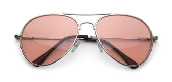 розовые солнечные очки Стоковое Изображение RF