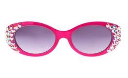 розовые солнечные очки Стоковое Изображение