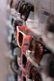 розовые солнечные очки Стоковое Фото