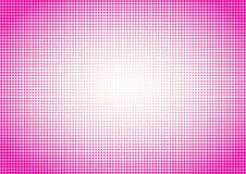 Розовые точки польки предпосылки полутонового изображения стоковая фотография rf