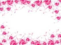 розовые цветки. Иллюстрация штока