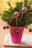 Розовые шипучки торта Стоковые Изображения