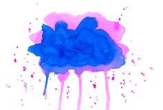 Розовые штриховатости Стоковое Изображение