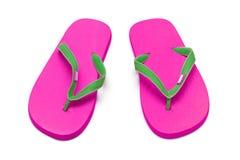 Розовые flops flip Стоковые Изображения RF
