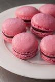 Розовые macaroons Стоковое Изображение RF