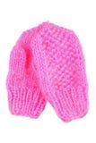 Розовые mittens Стоковая Фотография RF