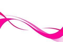 розовые swooshes бесплатная иллюстрация