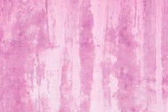 Розовый абстрактный модель-макет Пурпурная предпосылка с пятнами краски r Помарки на холсте, фоне r Картина waterco стоковое изображение