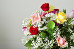 Розовый букет цветка Стоковое Фото