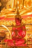 розовый Будда среди других buddhas стоковые изображения rf