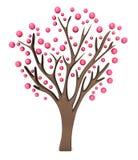 розовый вал 3d иллюстрация вектора