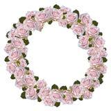 Розовый венок Стоковые Изображения