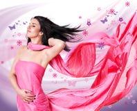 розовый ветер 2 Стоковое Фото