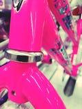 Розовый велосипед Стоковые Изображения