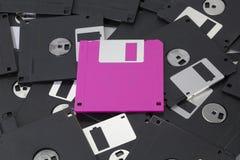 Розовый дискет Стоковые Фотографии RF