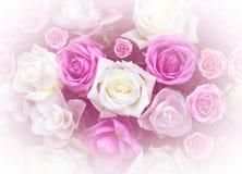 Розовый день валентинок влюбленности дизайна природы цветка для backgro дизайна Стоковые Фото