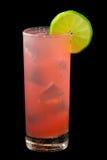 Розовый залив питья страсти Стоковые Фотографии RF