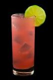Розовый залив питья страсти Стоковое фото RF