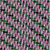 Розовый зеленый зигзаг stripes вектор предпосылки картин бесплатная иллюстрация