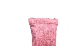 Розовый изолированный мешок Стоковые Фотографии RF